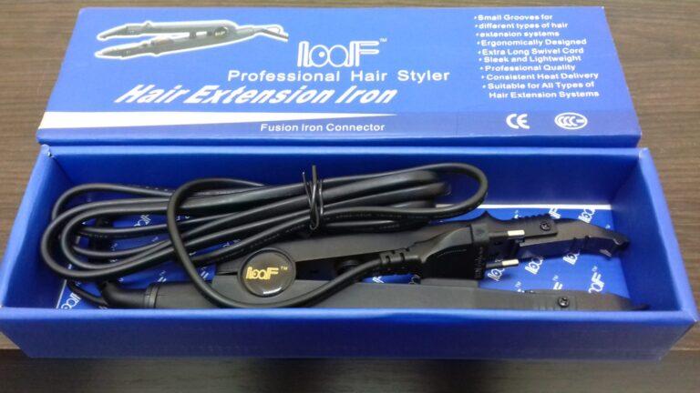 щипцы для наращивания волос LOOF Fusion Hair Extensions Iron