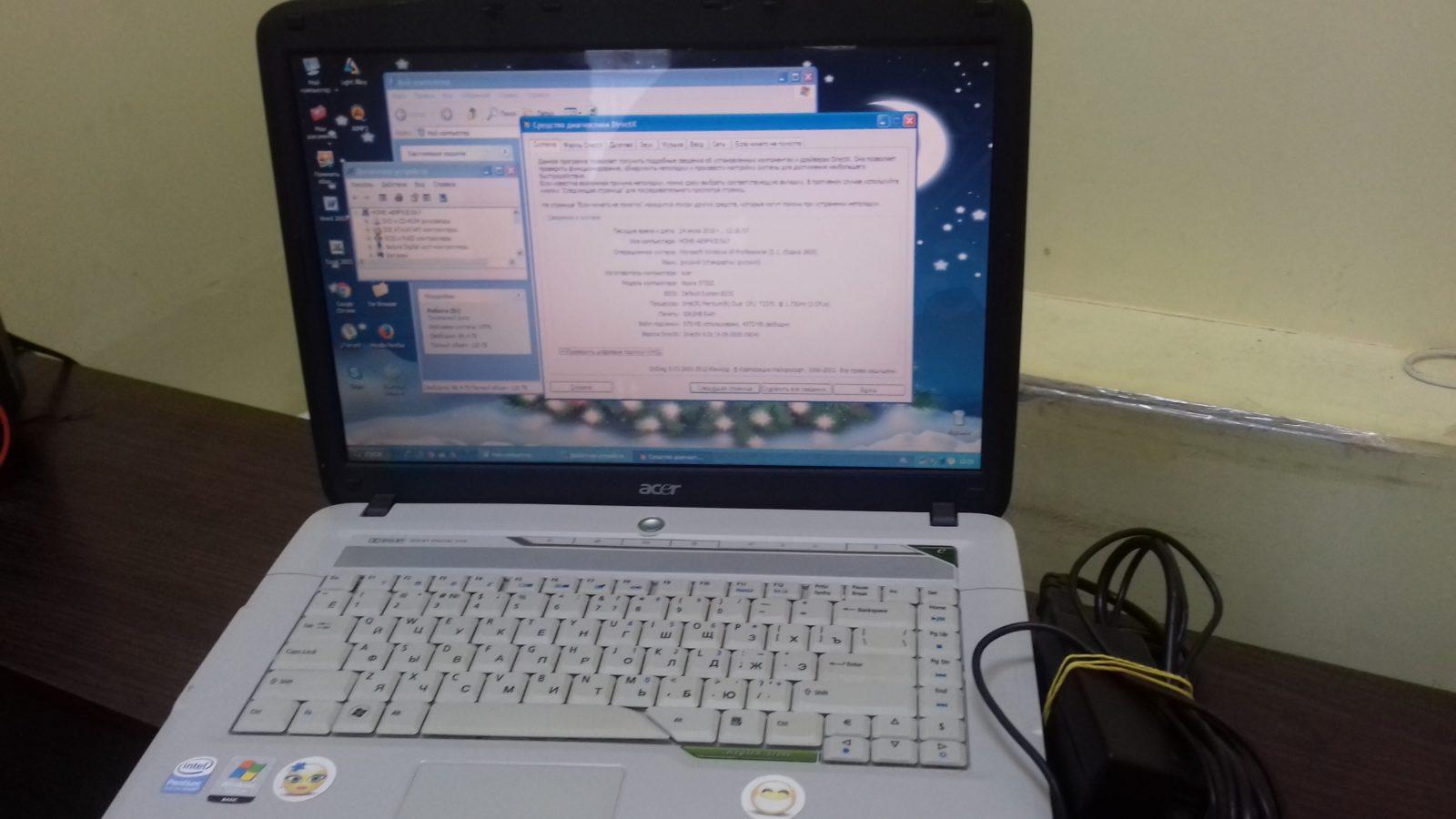 Ноутбук  Acer Aspire  5720z icl 50