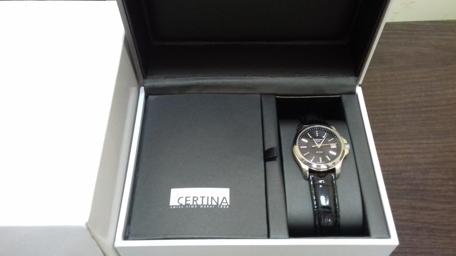 Женские часы Certina DS Prime C004.210
