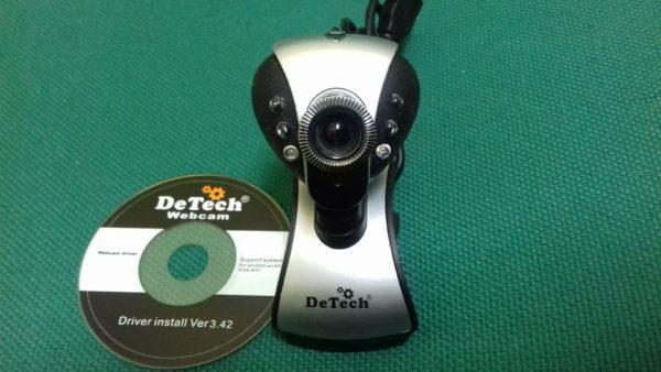 Веб-камера DeTech сломана ножка