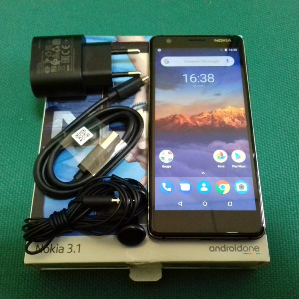 Смартфон  Nokia 3.1  TA-1063 DS 2/16