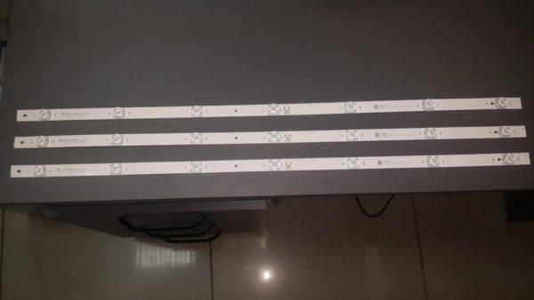 Стринги(подсветка экрана) к телевизору Bravis uhd-40e6000