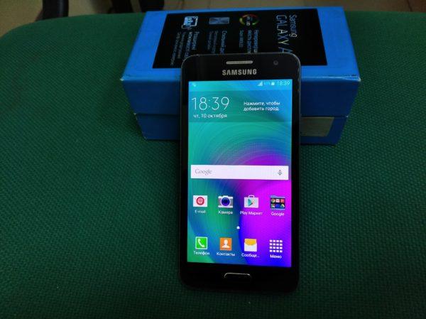 Смартфон Samsung Galaxy A3 sm-a300h