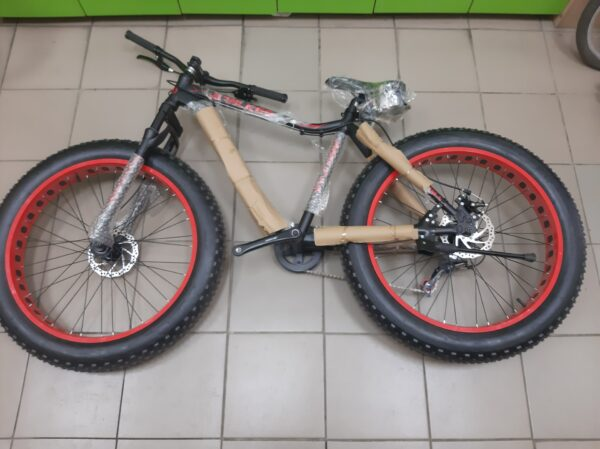 "Велосипед Titan Stalker 26""*4""17"" black-red"