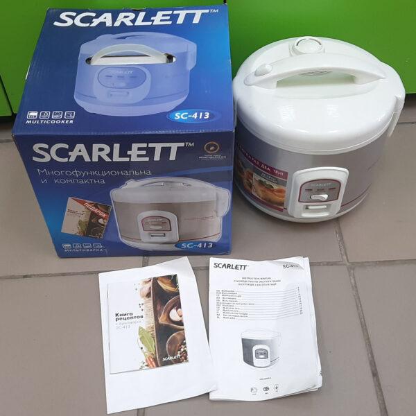 Мультиварка scarlet sc -413